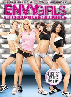 Carmen Electras Aerobic Striptease Carmens Fitness Collection DVD