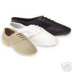 Capezio 358 split sole jazz dance shoes tan 1 M kids