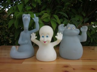 Lot Of 3 Casper The Friendly Ghost The Movie Plastic Figurines 1995