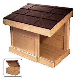 outdoor cat house in Cat Supplies