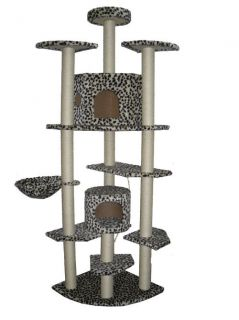 80 Cat Tree Condo Furniture Scratch Post Pet House 38L