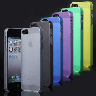 Clear Ultra Thin Crystal Hard Snap On Case Skin Cover for iPhone 5