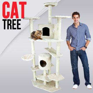 80 Huge Big Tall Cat Tower Tree with Condo Scratcher Furniture Play