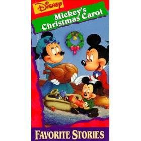 Walt Disney Mini Classics   Mickeys Christmas Carol VHS, 1997