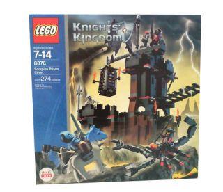 Lego Castle Knights Kingdom II Scorpion Prison Cave 8876