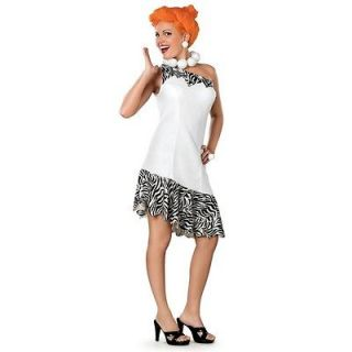 Wilma Flintstone Costume Adult Small 6 10 Deluxe Womens Dress