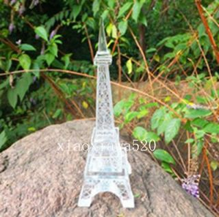 48*48mm Crystal handicraft Paris Eiffel Tower Decor Figurine