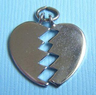 broken heart charm in Jewelry & Watches
