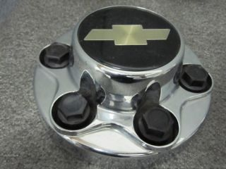 Chevy truck 2500 Express chrome wheel center cap hubcap