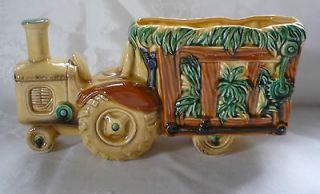 Relpo Tractor with Hay Wagon Planter