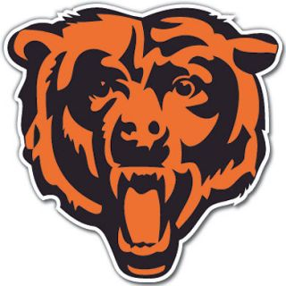 Chicago Bears NFL Football Vinyl Decal Sticker 4 sizes available