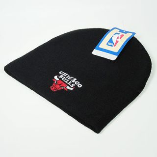 Chicago Bulls Beanie Knit Beanie Black NBA