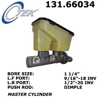 CENTRIC 131.66034 Brake Master Cylinder (Fits 2001 Chevrolet Astro)