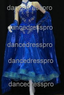Ready made Ballroom Modern Waltz Tango Dance Dress #1801 1 L size