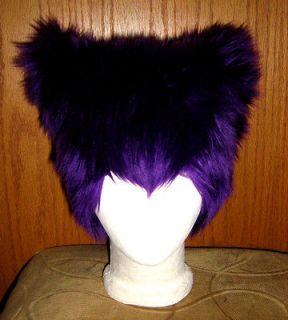 CHESHIRE KITTY CAT EAR FUR HAT ANIME COSPLAY WONDERLAND HALLOWEEN