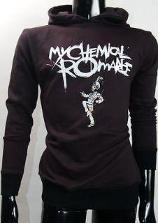 My Chemical Romance MCR Gerard Way Alternative Rock Black Hoodie Tee S