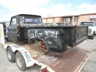 1955 66 CHEVY GMC TRUCK , 100 LONG BED,BOX
