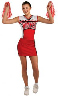 Teens Girls Cheerios Glee Halloween Costume Outfit (Dress Size 2 6)