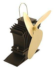 Ecofan Airplus 3 Blade 105 CFM Gas Stove Fan Gold Blades Model 806