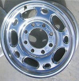 WHEEL POLISHED 16 2500 3500 HD CHEVY SILVERADO VAN GMC SIERRA 2000
