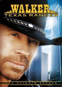 Walker, Texas Ranger The Seventh Season DVD, 2010, 5 Disc Set