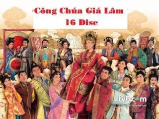 Cong Chua Gia Lam, Tron Bo 16 Dvd, Phim HongKong 32 Tap