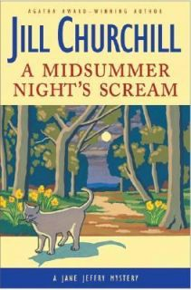Midsummer Nights Scream by Jill Churchill 2004, Hardcover