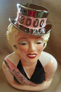 MARILYN MONROE 2000 Millennium COOKIE JAR by CLAY ART