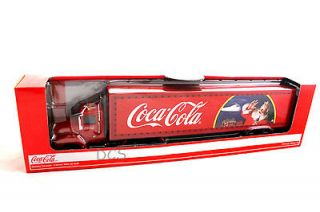 COCA COLA CHRISTMAS HOLIDAY CARAVAN BIG RIG DELIVERY TRUCK 1/43