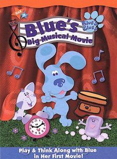 Blues Clues   Blues Big Musical Movie DVD, 2000, Checkpoint