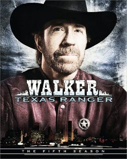 Walker Texas Ranger   The Complete Fifth Season DVD, 2008, Multi Disc