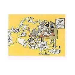 BUGS BUNNY DIRECTOR CHUCK AMUCK L.E. ANIMATION CEL S&N