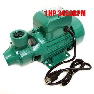 1HP Centrifugal Clear Water Pump 1 Electric Pond Pool 16GPM 3450RPM