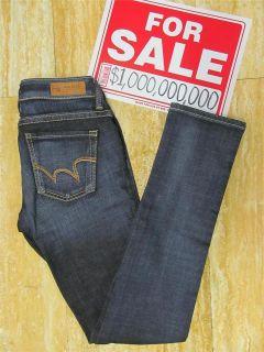 Genuine Edwin Miss Edwin Skinny Selvaged Denim Blue Jean Womens Size
