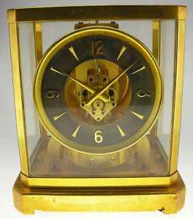 VINTAGE JAEGER LECOULTRE 8 DAY / REUGE MUSICAL CLOCK (WATCH THE VIDEO