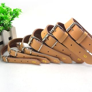 leather dog collar in Dog Supplies