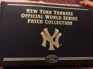 NY Yankees Official World Series Patch Collection Willabee & Ward 26
