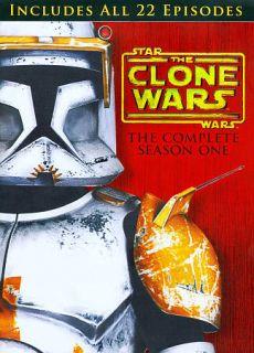 Star Wars The Clone Wars   Season 1 DVD, 2009, 4 Disc Set
