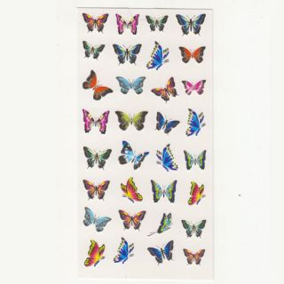 Temporary Body Art Tattoo Sticker cosmetic and beauty Little Butterfly