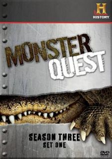 Monsterquest   Complete Season 3 DVD, 2009