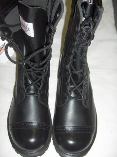 LEATHER JUMP BOOTS MILITARY ARMY STYLE SIZES 7 TO 13
