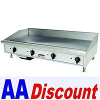 NEW TOASTMASTER STAR 48 GAS GRIDDLE FLAT TOP TMGM48