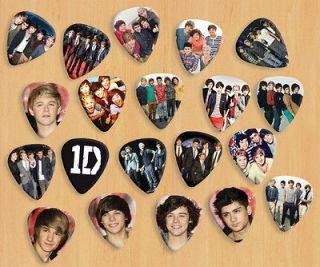One Direction X 20 Premium Guitar Picks