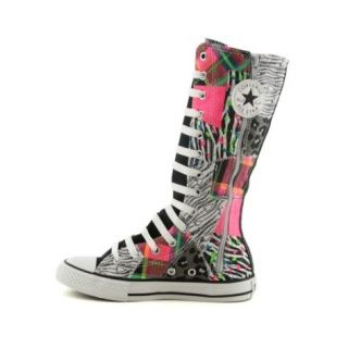 CONVERSE~Knee High~X HI~YOUTH~11,12,13,1,2,3,4,5,6~ZEBRA PATCHWORK