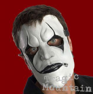 SLIPKNOT JAMES ROOT MASK JIM BLACK WHITE Hope Gone Costume Metal