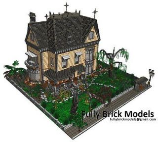 Victorian Town Custom House Modular Instructions Corner City People