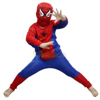 New Deluxe Toddler Spiderman Costume   Child Spider Man Costumes