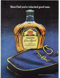 crown royal seagrams