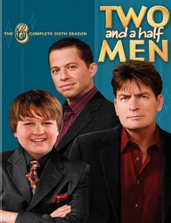 Two and a Half Men   The Complete Sixth Season DVD, 2009, 4 Disc Set