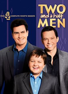 Two and a Half Men   The Complete Fourth Season DVD, 2008, 4 Disc Set